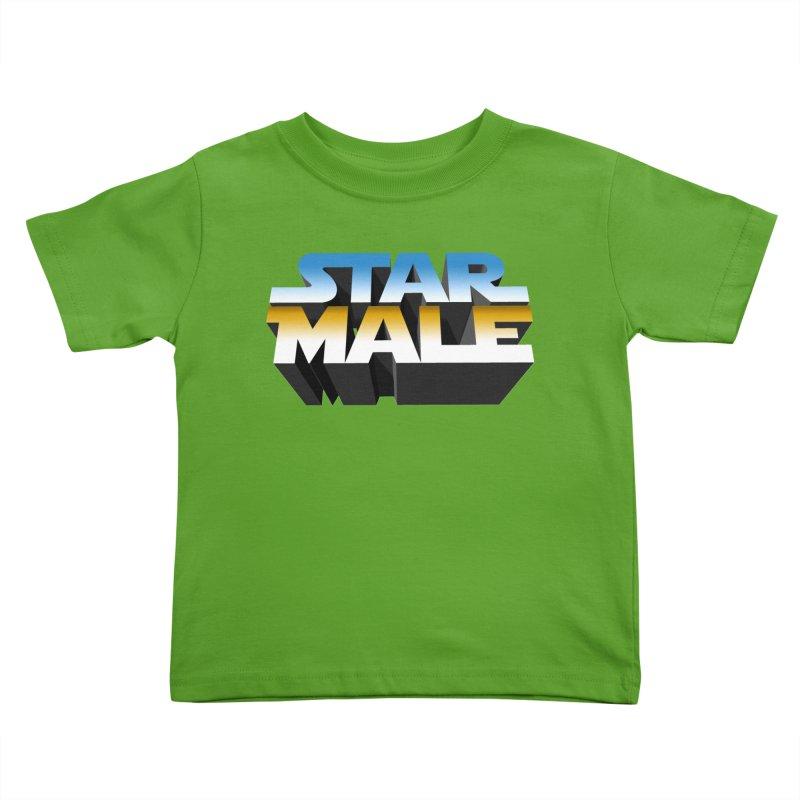 Star Male Kids Toddler T-Shirt by Frankie hi-nrg mc & le magliette