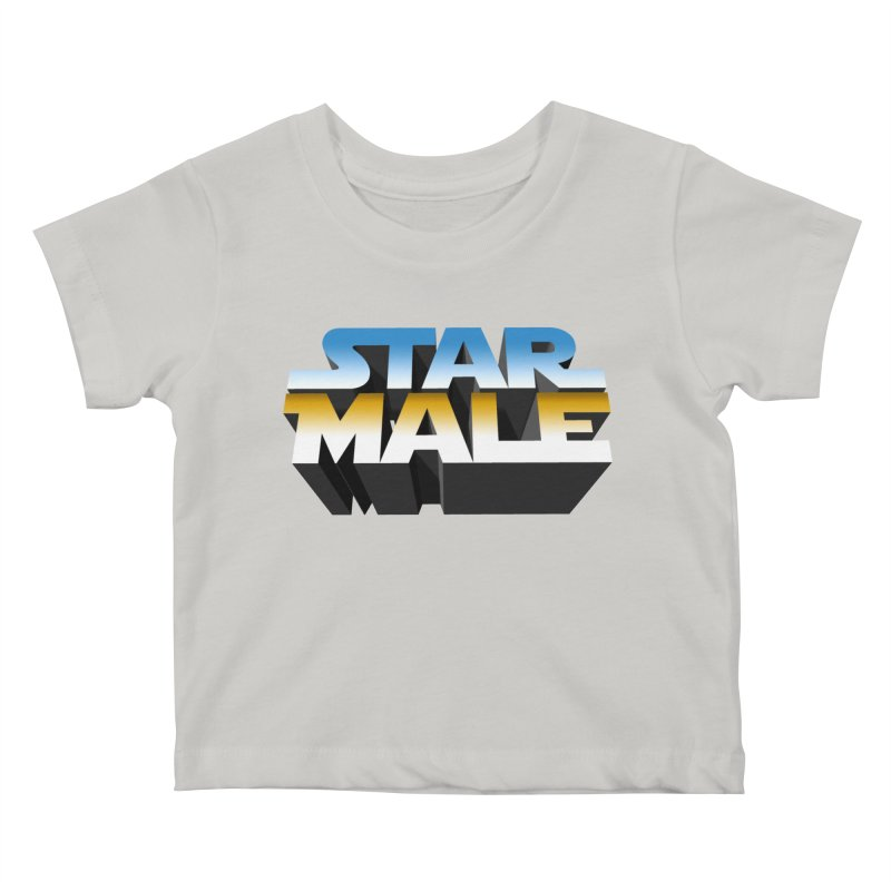 Star Male Kids Baby T-Shirt by Frankie hi-nrg mc & le magliette