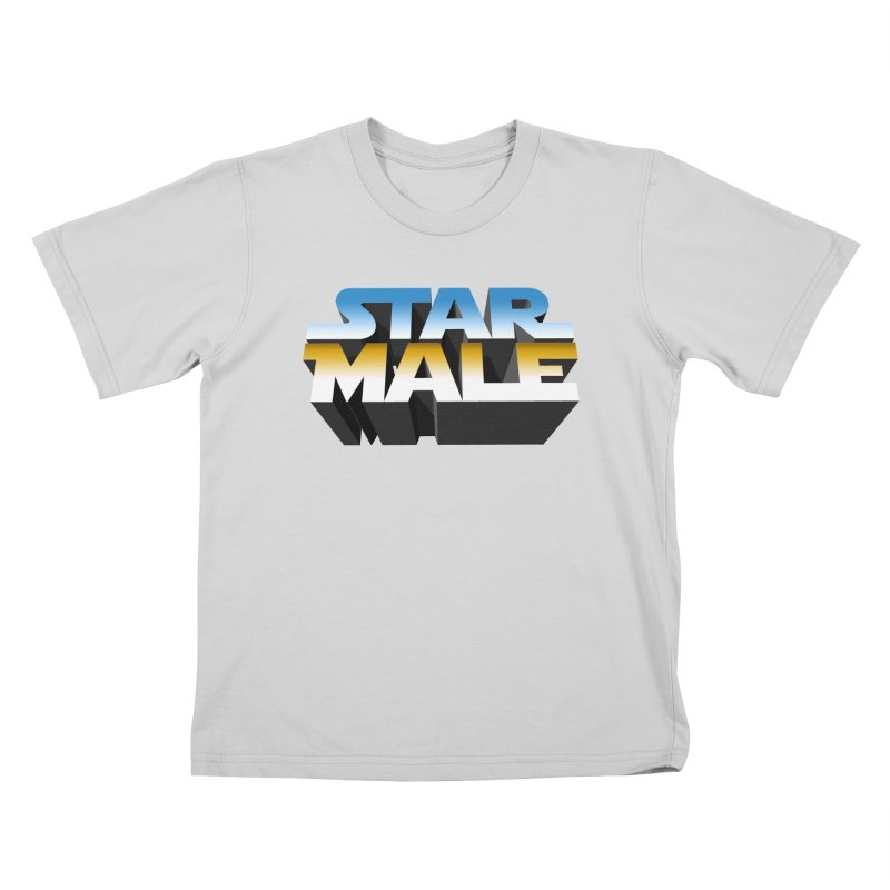Star Male Kids T-Shirt by Frankie hi-nrg mc & le magliette