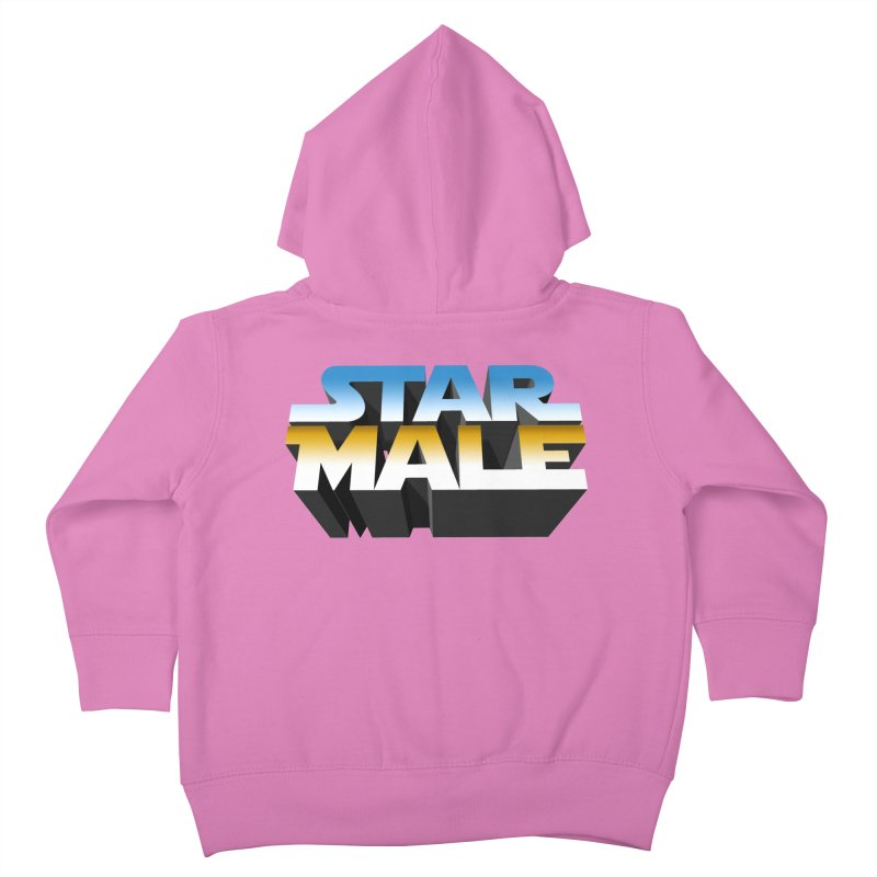 Star Male Kids Toddler Zip-Up Hoody by Frankie hi-nrg mc & le magliette
