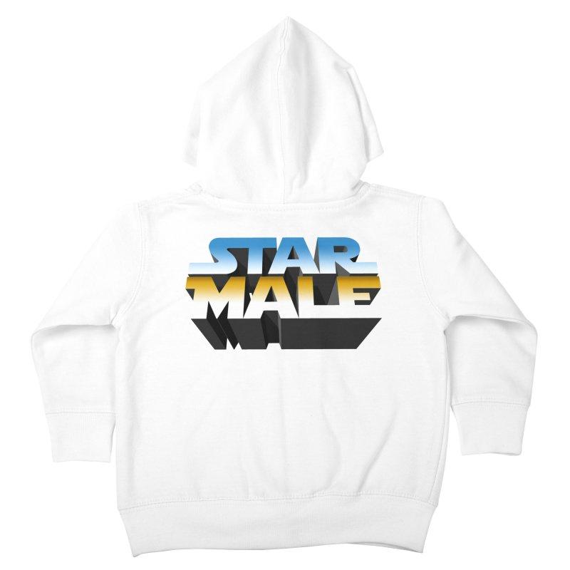 Star Male Kids Toddler Zip-Up Hoody by Frankie hi-nrg mc & le magliette