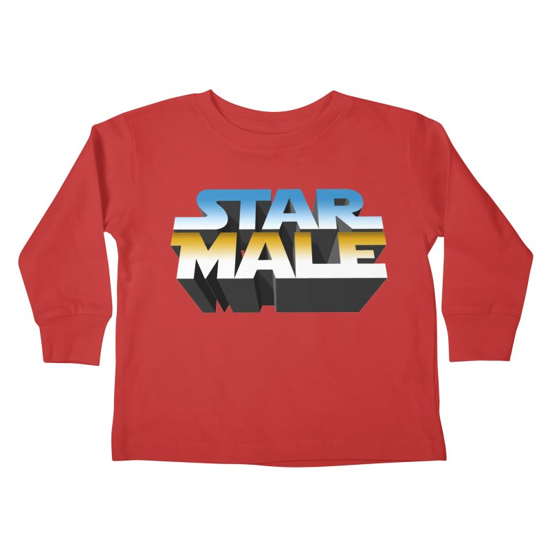 Star Male Kids Toddler Longsleeve T-Shirt by Frankie hi-nrg mc & le magliette