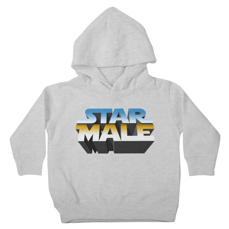Star Male Kids Toddler Pullover Hoody by Frankie hi-nrg mc & le magliette