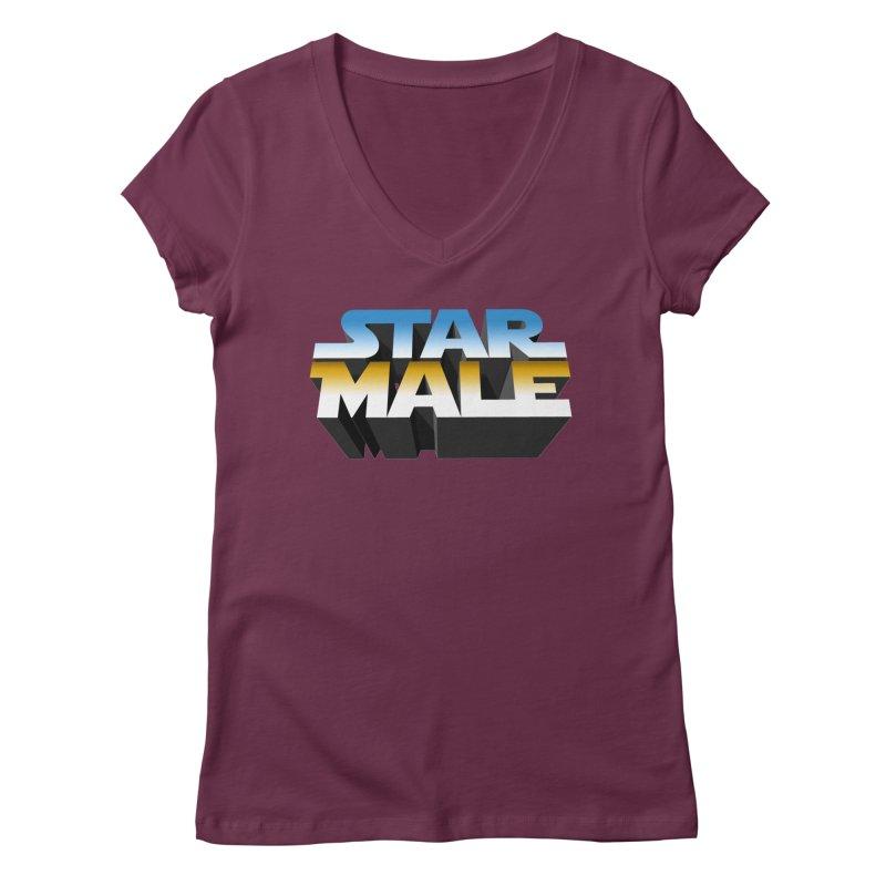 Star Male Women's V-Neck by Frankie hi-nrg mc & le magliette