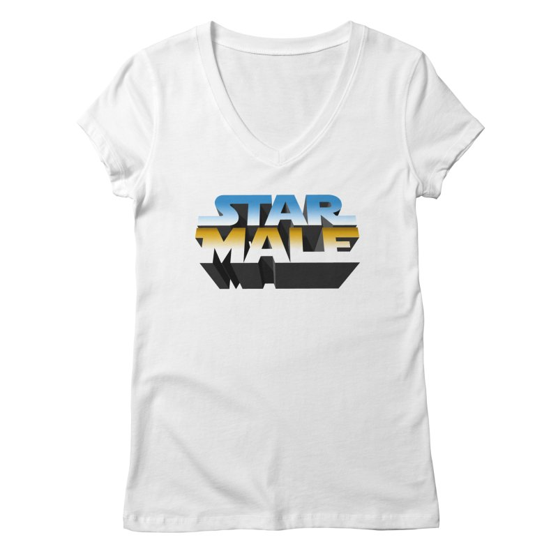 Star Male Women's V-Neck by Frankie hi-nrg mc & le magliette