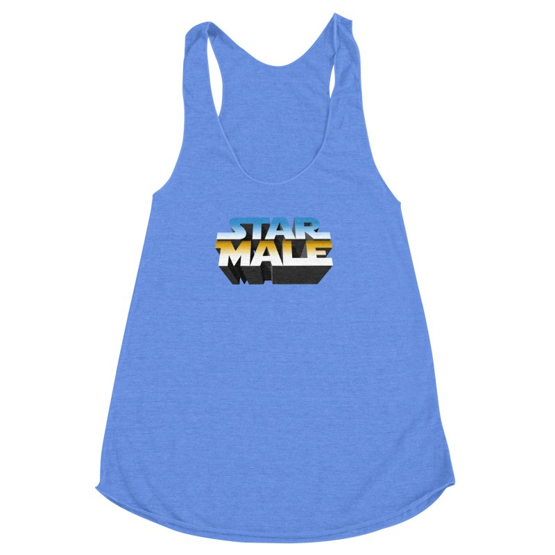 Star Male Women's Racerback Triblend Tank by Frankie hi-nrg mc & le magliette