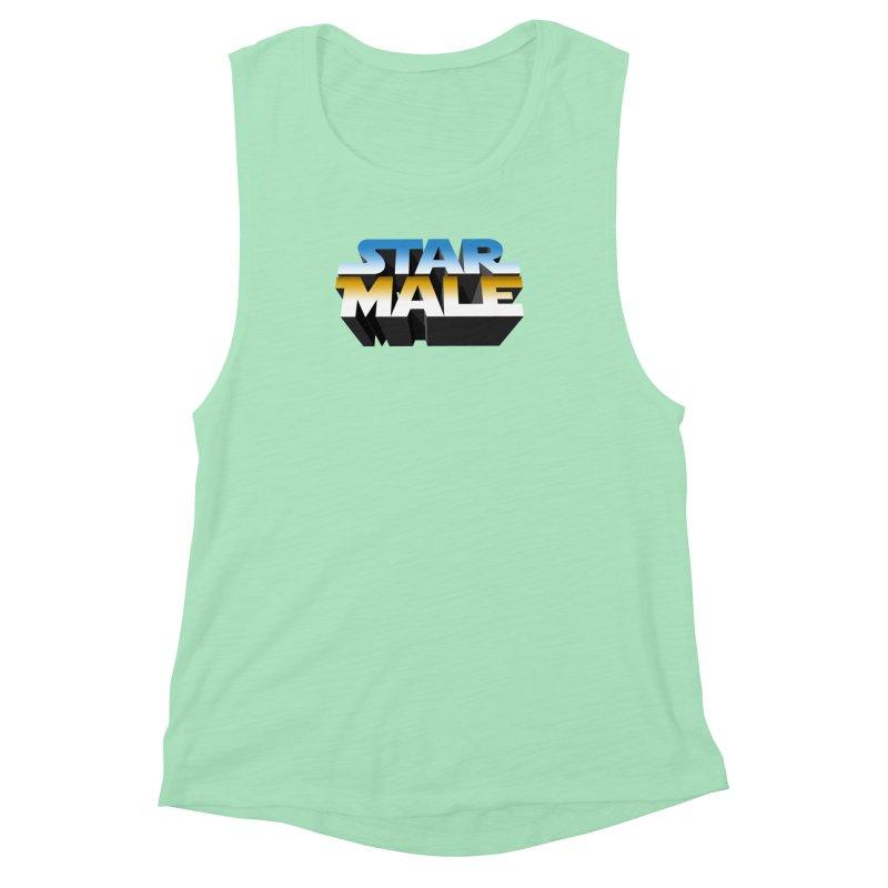 Star Male Women's Muscle Tank by Frankie hi-nrg mc & le magliette