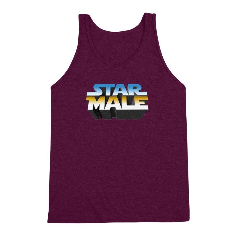 Star Male Men's Triblend Tank by Frankie hi-nrg mc & le magliette