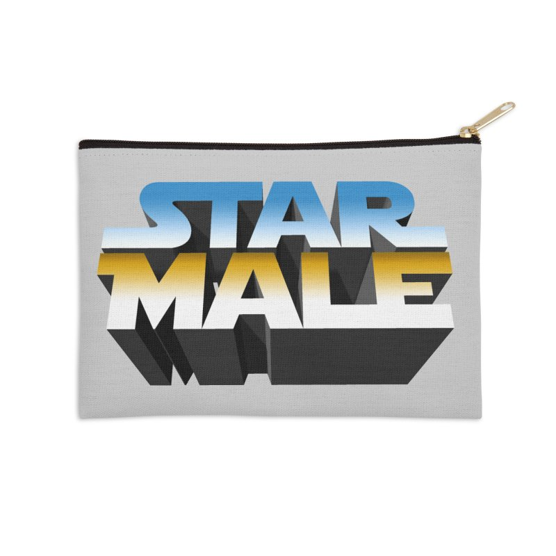 Star Male Accessories Zip Pouch by Frankie hi-nrg mc & le magliette