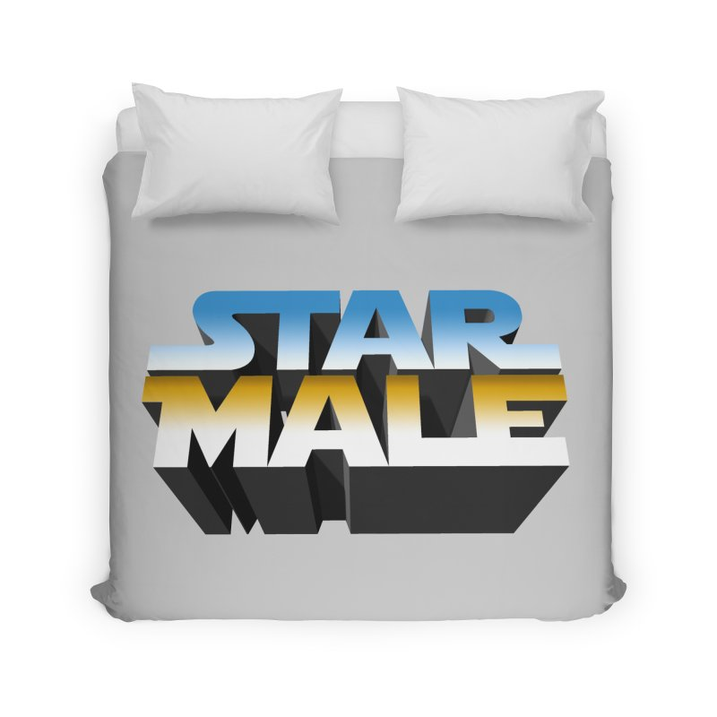 Star Male Home Duvet by Frankie hi-nrg mc & le magliette