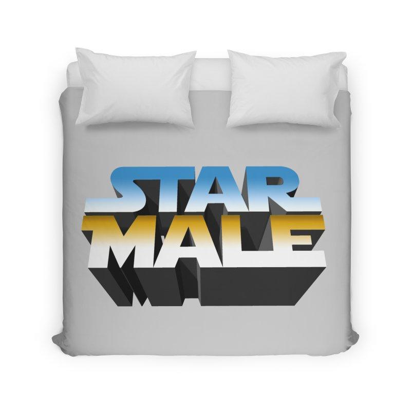 Star Male Home Duvet by Frankie hi-nrg mc & le magliette