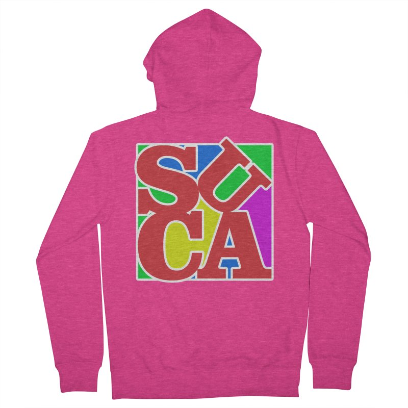 Suca Women's Zip-Up Hoody by Frankie hi-nrg mc & le magliette