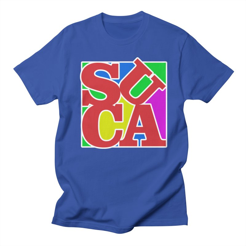 Suca in Men's T-Shirt Royal Blue by Frankie hi-nrg mc & le magliette