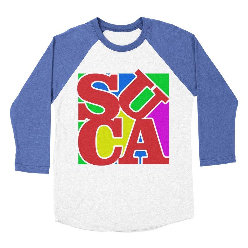 Suca Women's Baseball Triblend T-Shirt by Frankie hi-nrg mc & le magliette