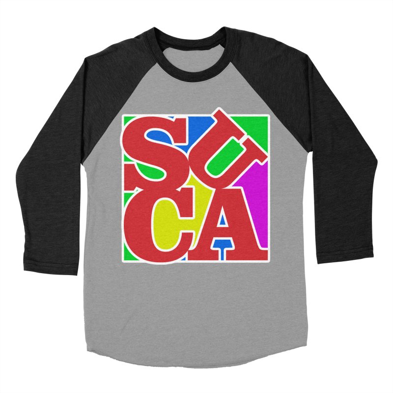 Suca Men's Baseball Triblend T-Shirt by Frankie hi-nrg mc & le magliette