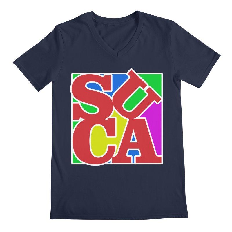 Suca Men's V-Neck by Frankie hi-nrg mc & le magliette