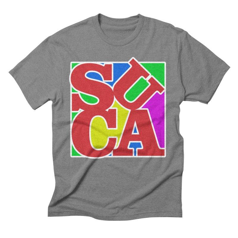 Suca Men's Triblend T-shirt by Frankie hi-nrg mc & le magliette