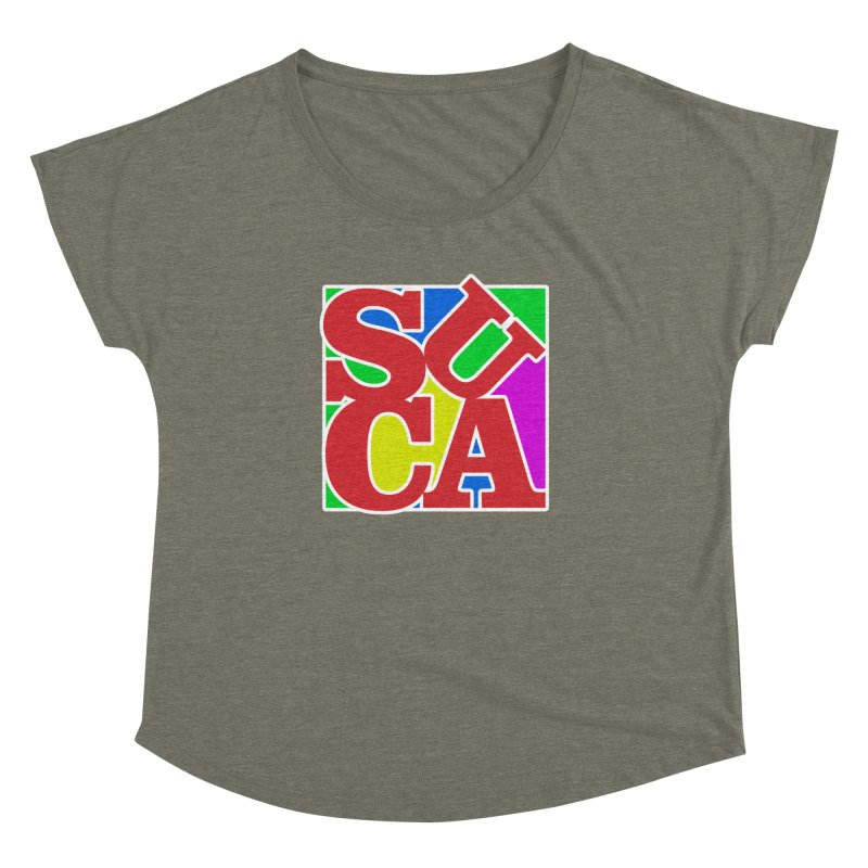 Suca Women's Dolman by Frankie hi-nrg mc & le magliette