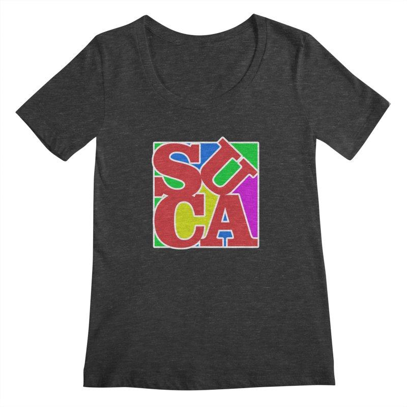 Suca Women's Scoopneck by Frankie hi-nrg mc & le magliette