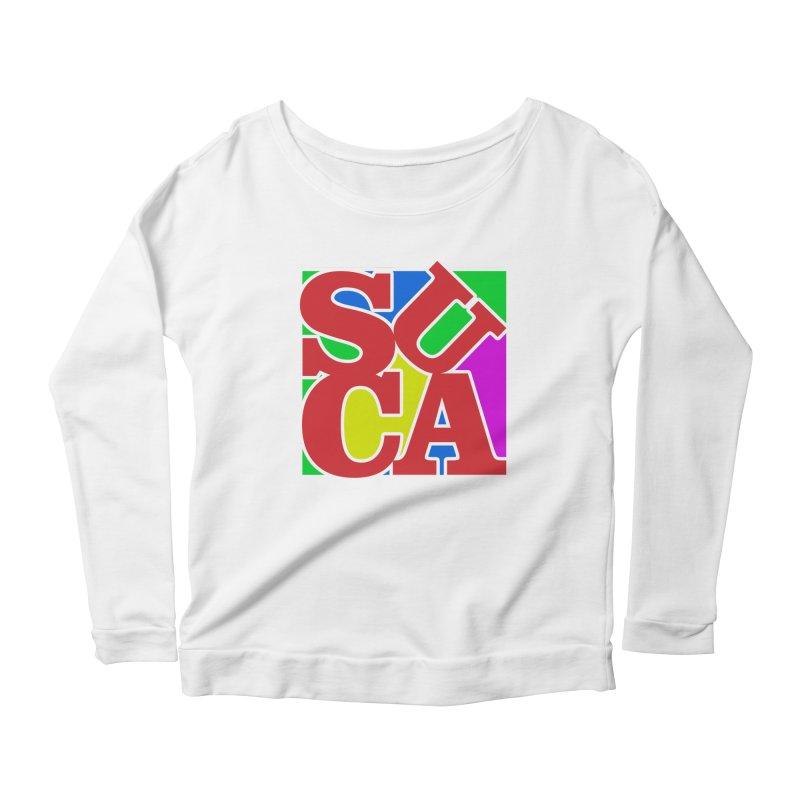 Suca Women's Longsleeve Scoopneck  by Frankie hi-nrg mc & le magliette