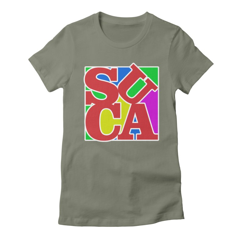 Suca Women's Fitted T-Shirt by Frankie hi-nrg mc & le magliette