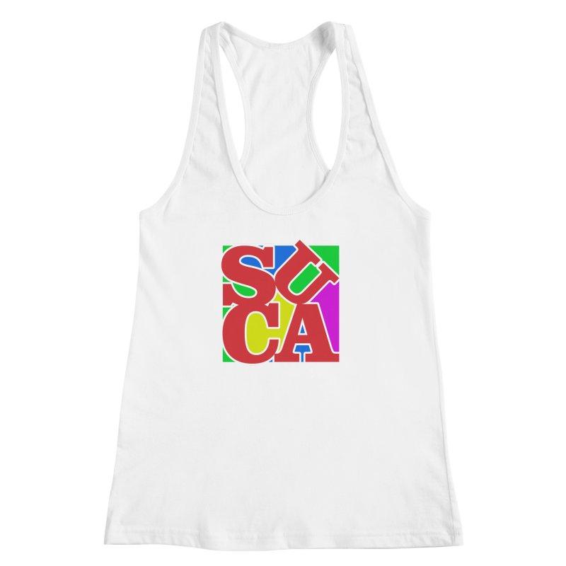 Suca Women's Racerback Tank by Frankie hi-nrg mc & le magliette