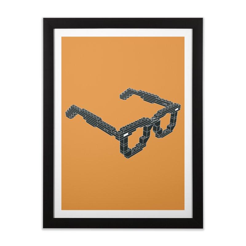 LEG(g)O Home Framed Fine Art Print by Frankie hi-nrg mc & le magliette
