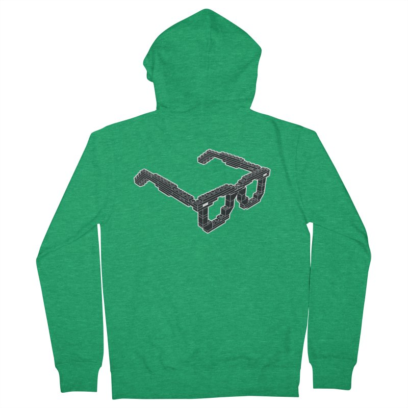 LEG(g)O Women's Zip-Up Hoody by Frankie hi-nrg mc & le magliette
