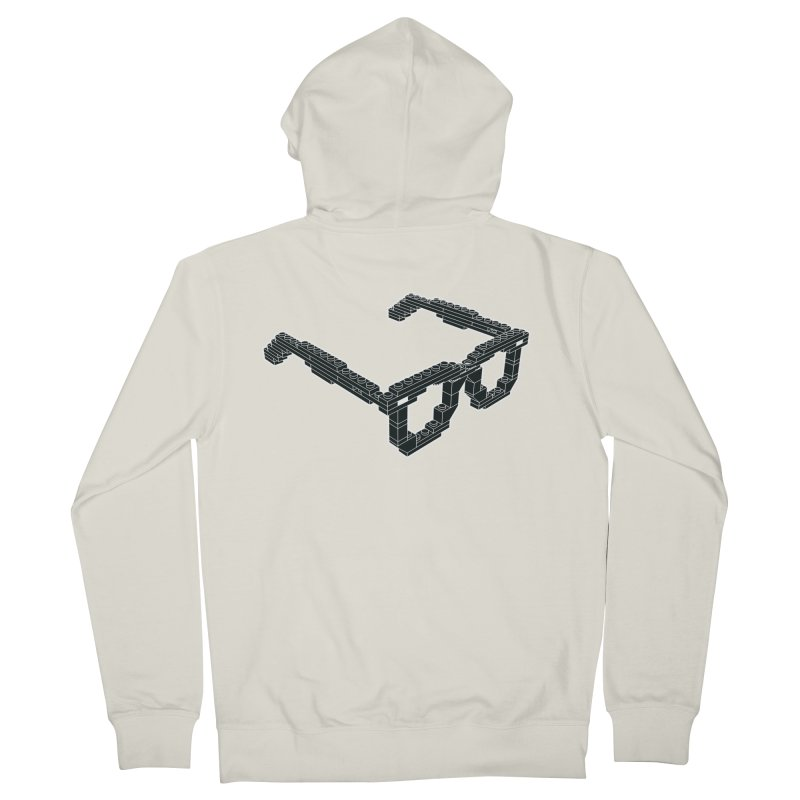 LEG(g)O Men's French Terry Zip-Up Hoody by Frankie hi-nrg mc & le magliette