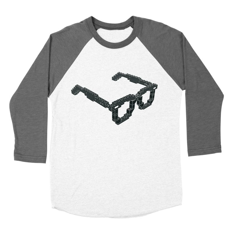 LEG(g)O Men's Baseball Triblend Longsleeve T-Shirt by Frankie hi-nrg mc & le magliette