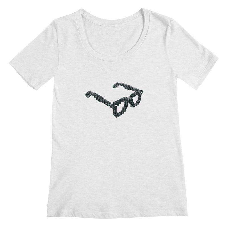 LEG(g)O Women's Regular Scoop Neck by Frankie hi-nrg mc & le magliette