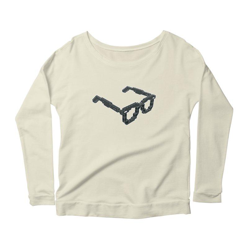 LEG(g)O Women's Longsleeve Scoopneck  by Frankie hi-nrg mc & le magliette