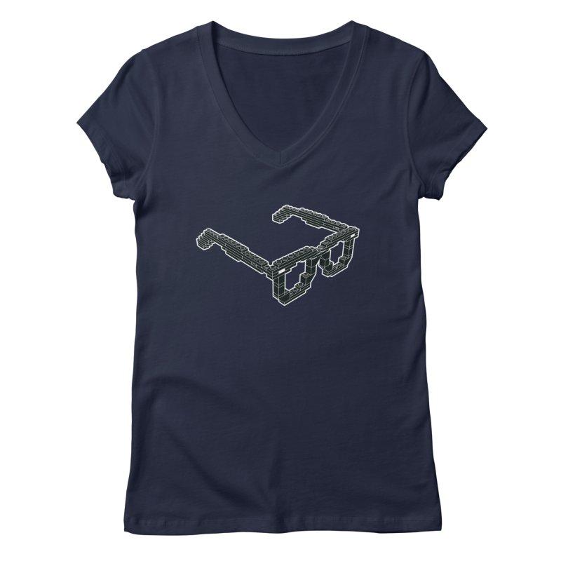 LEG(g)O Women's Regular V-Neck by Frankie hi-nrg mc & le magliette