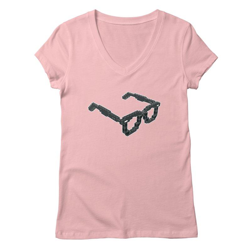 LEG(g)O Women's V-Neck by Frankie hi-nrg mc & le magliette