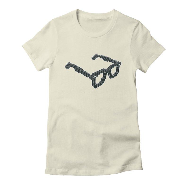 LEG(g)O Women's Fitted T-Shirt by Frankie hi-nrg mc & le magliette
