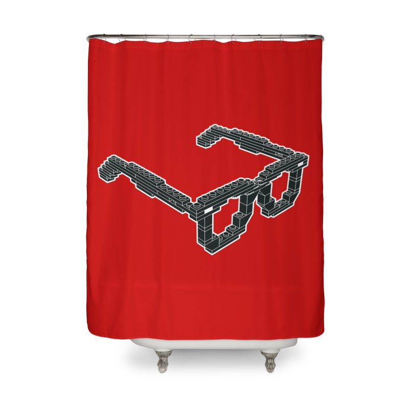LEG(g)O Home Shower Curtain by Frankie hi-nrg mc & le magliette