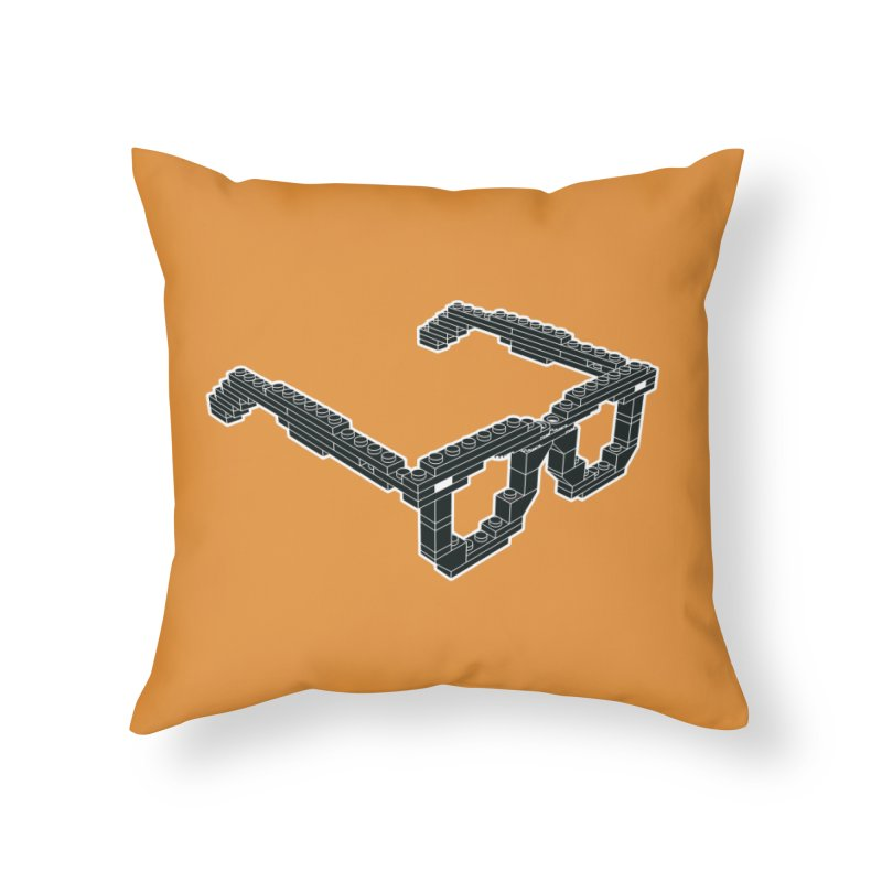 LEG(g)O Home Throw Pillow by Frankie hi-nrg mc & le magliette