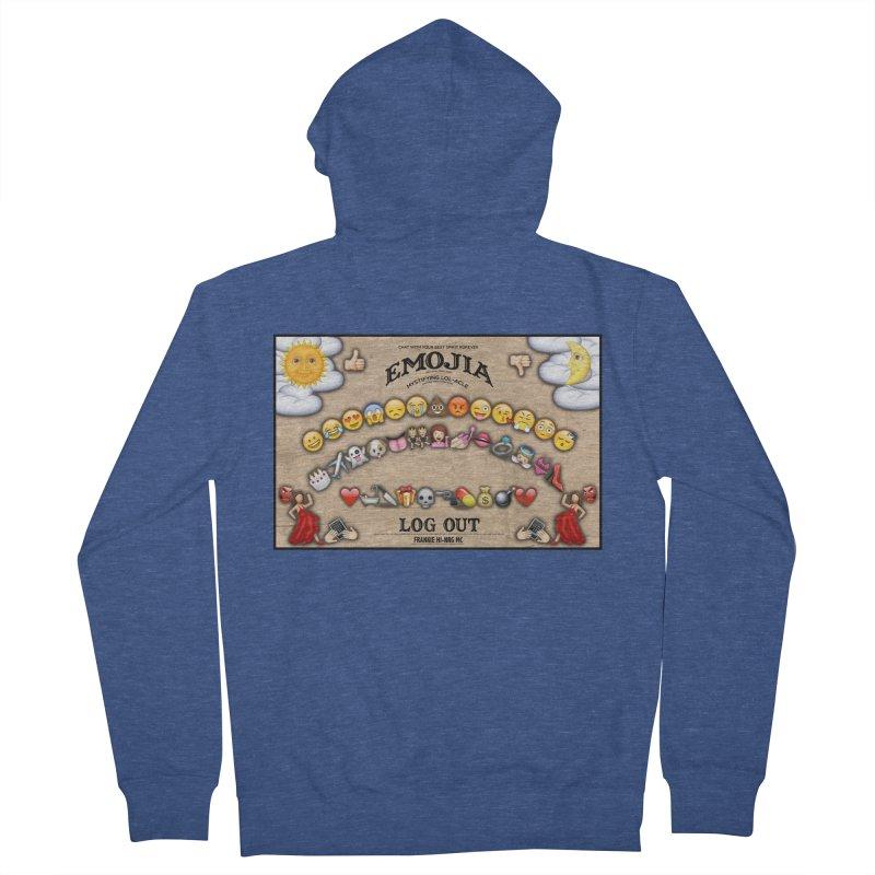 EMOJIA Women's Zip-Up Hoody by Frankie hi-nrg mc & le magliette