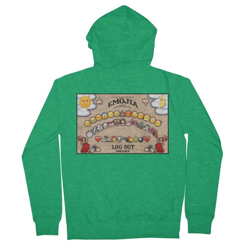 EMOJIA Men's Zip-Up Hoody by Frankie hi-nrg mc & le magliette