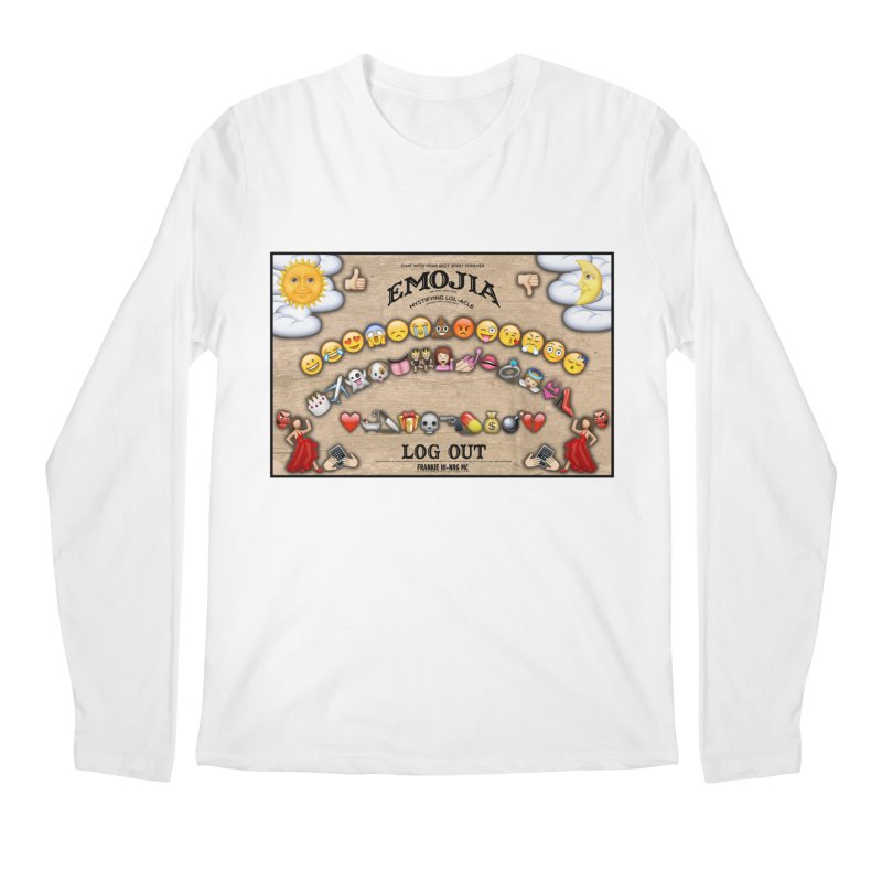 EMOJIA Men's Longsleeve T-Shirt by Frankie hi-nrg mc & le magliette