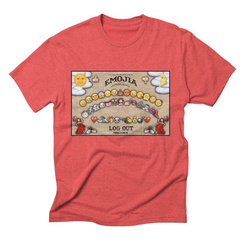 EMOJIA Men's Triblend T-shirt by Frankie hi-nrg mc & le magliette
