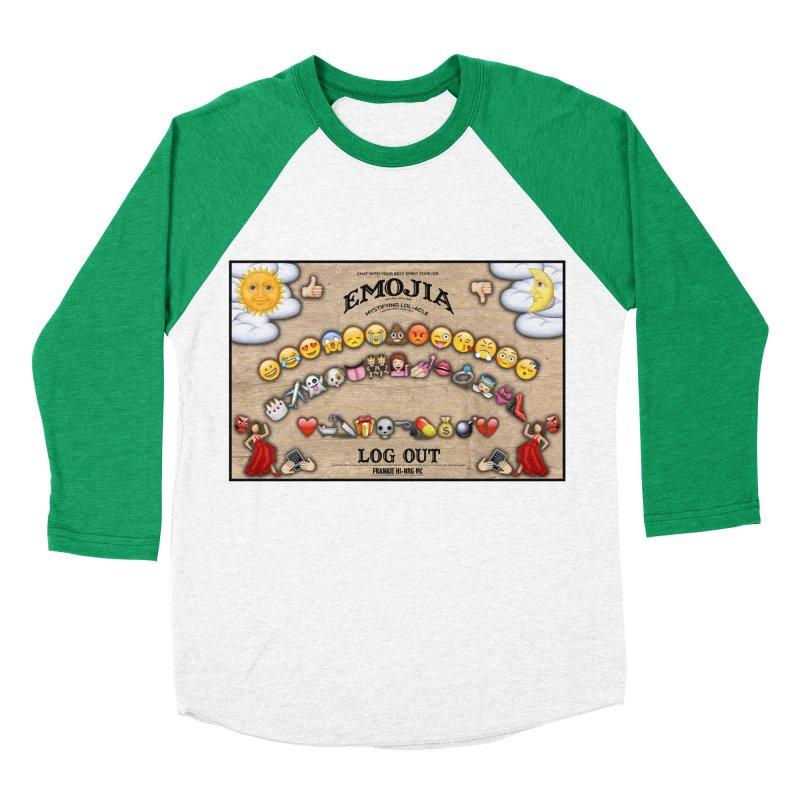 EMOJIA Women's Baseball Triblend T-Shirt by Frankie hi-nrg mc & le magliette