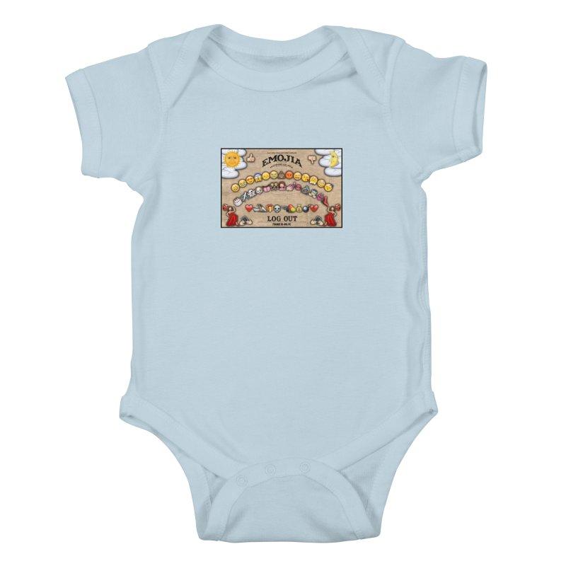 EMOJIA Kids Baby Bodysuit by Frankie hi-nrg mc & le magliette