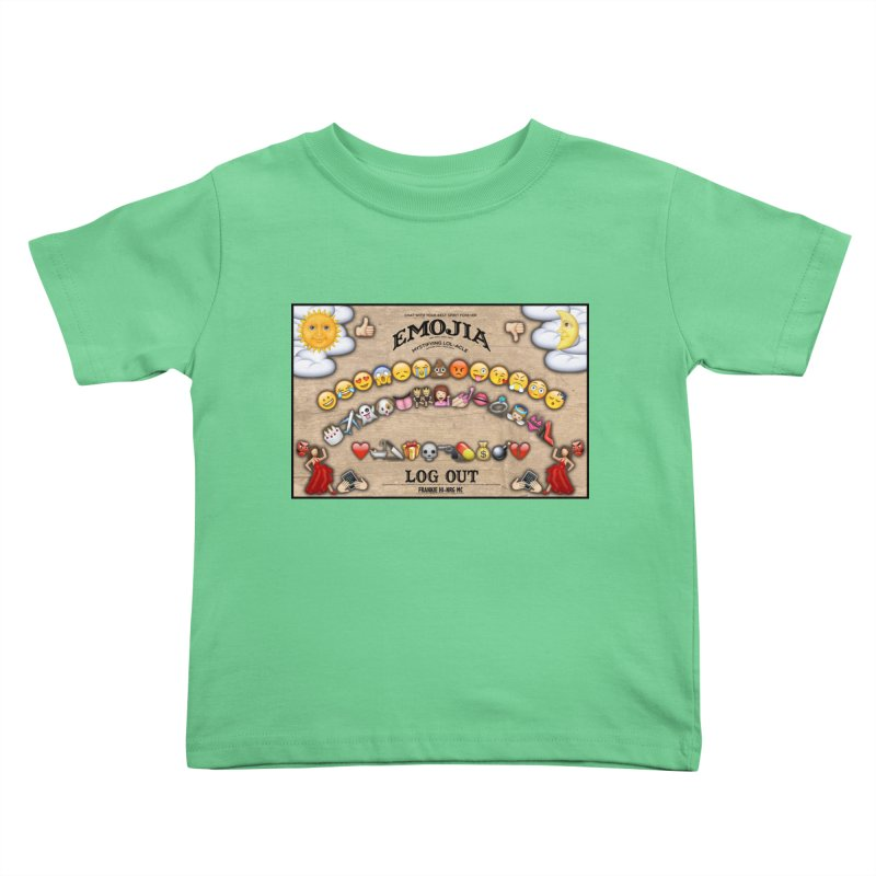 EMOJIA Kids Toddler T-Shirt by Frankie hi-nrg mc & le magliette