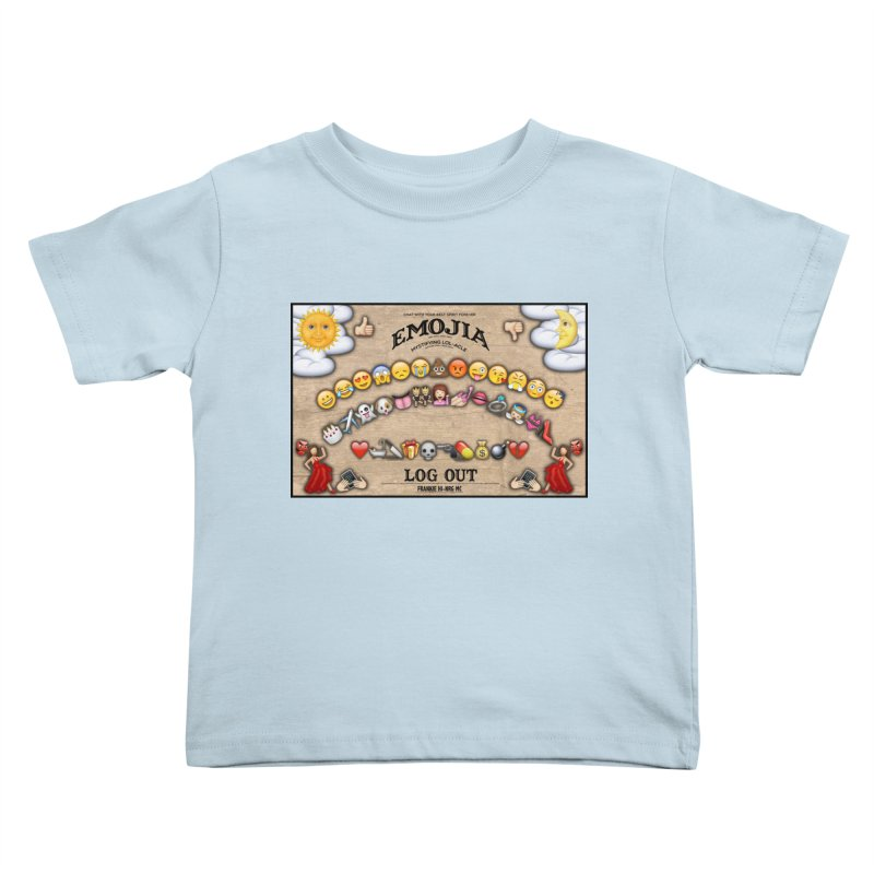 EMOJIA Kids Toddler T-Shirt by Frankie hi-nrg mc & le magliette