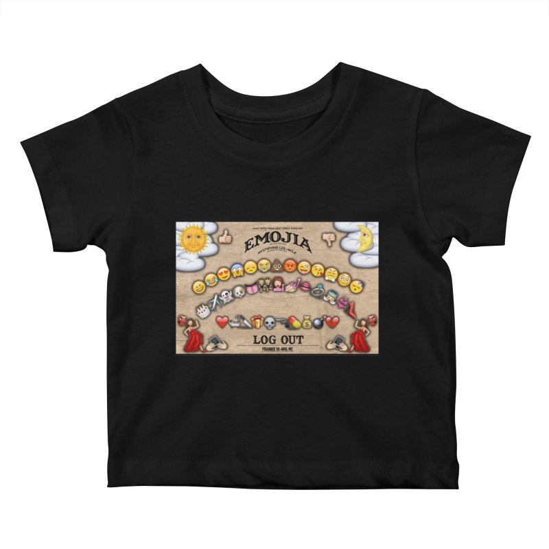 EMOJIA Kids Baby T-Shirt by Frankie hi-nrg mc & le magliette