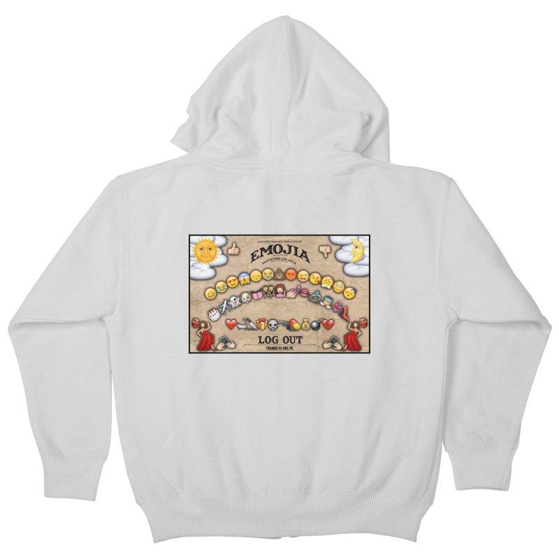 EMOJIA Kids Zip-Up Hoody by Frankie hi-nrg mc & le magliette
