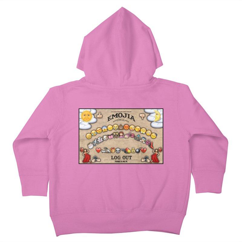 EMOJIA Kids Toddler Zip-Up Hoody by Frankie hi-nrg mc & le magliette
