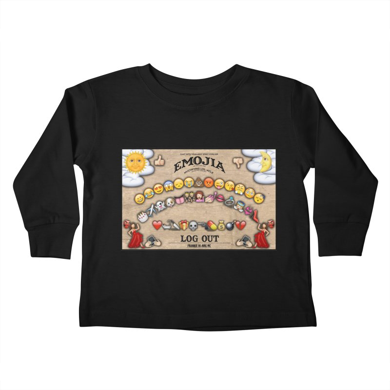 EMOJIA Kids Toddler Longsleeve T-Shirt by Frankie hi-nrg mc & le magliette