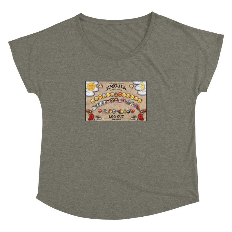 EMOJIA Women's Dolman by Frankie hi-nrg mc & le magliette